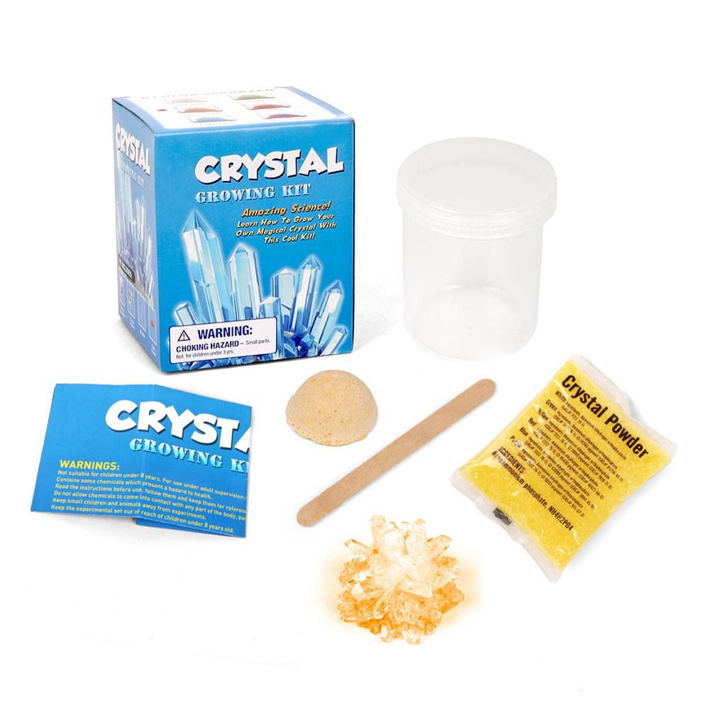 DIY Faux Crystal Growing Kit Crafts Science Experiment Students Educational Toy