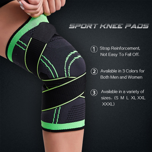 Heyfitae™ Full Compression Knee Support With Strap 3