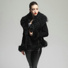 rf1923 Real Fur Jacket Winter Women's Real