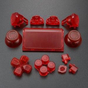 Image 4 - YuXi For Dualshock 4 PS4 Pro Slim Controller jds 040 jds 040 Dpad L1 R1 L2 R2 Trigger Buttons Analog  Joystick Sticks