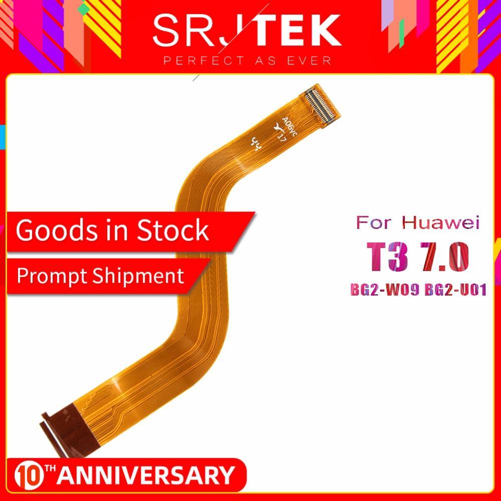 SRJTEK T3 LCD Flex Cable For Huawei MediaPad T3 7 7.0 BG2-W09 BG2-U01 BG2-U03 LCD Display Motherboard Connector 3G Wifi Version