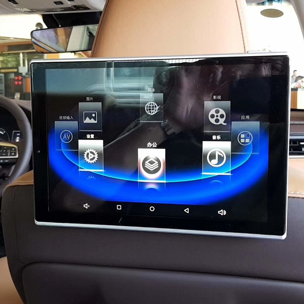11.8 Inch Android Headrest Car Monitor Support Bluetooth FM Wifi MP4 MP5 Touch Screen For <font><b>Lexus</b></font> <font><b>GS350</b></font> Rear Seat Entertainment image