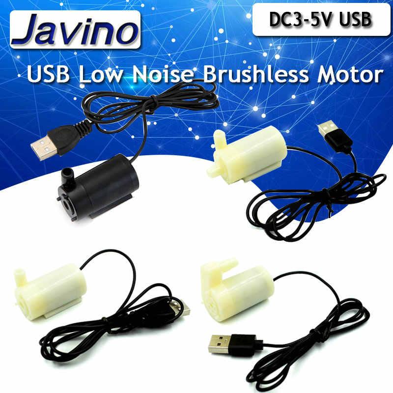 DC3-5V USB Geräuscharm Bürstenlosen Motor Pump120L/H Mini Micro Tauch Wasserpumpe Für Diy Kit