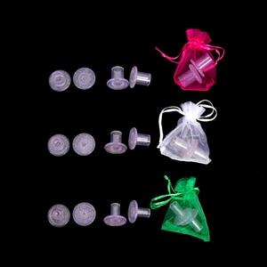 Image 1 - 70 par/lote de cubiertas de silicona para tacón alto, Protector DE PLÁSTICO para zapatos, protectores de tacón alto para césped, Kit de cuidado de zapatos para fiesta de boda