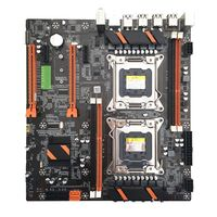Placa base de alta calidad X79 Dual CPU LGA2011 E5 4 DDR3 DIMM  placa base de ordenador de escritorio M.2