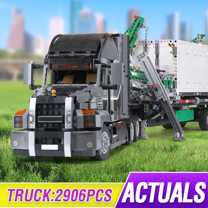 Lepinings 20076 Technic Series The Macking Big Truck Set With 42078 Building Blocks Bricks Kids Educational Toy Christmas Gift
