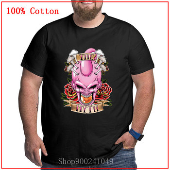 Camiseta divertida de Dragon Ball The Myth Majin Buu, camiseta de Fitness Buu Boo, camiseta de hombre personalizada de dibujos animados Majin Buu, camiseta Unisex de gran tamaño