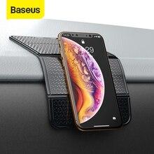 Baseus רכב מחזיק טלפון אוניברסלי Mobilephone קיר שולחן מדבקת רב תפקודי ננו גומי כרית רכב הר טלפון תמיכה