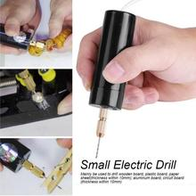 Electric hand drill Wrench 5v Hand Motor Hole Exquisite Durable Mini Drill USB Plastic Saw 3pcs Drills