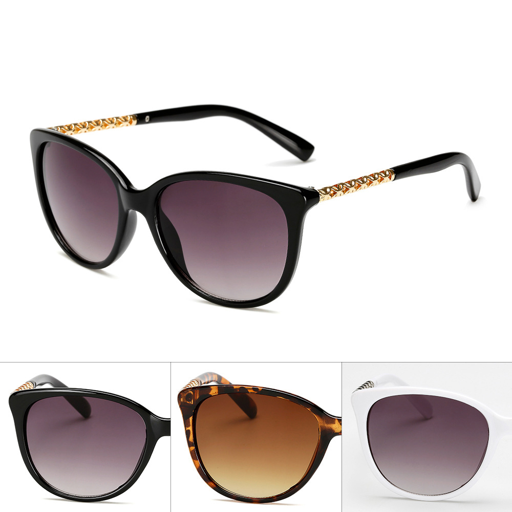 2021 New Vintage Brand Design Ladies Cat Eye Sunglasses Women  Frame Luxury Sun Glasses For Female  UV400