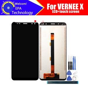 Image 1 - Vernee X LCD תצוגה + מסך מגע Digitizer עצרת 100% מקורי חדש LCD + מגע Digitizer עבור Vernee X + כלים