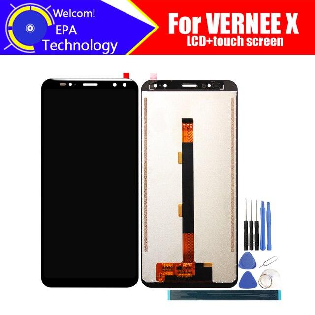Vernee X LCD תצוגה + מסך מגע Digitizer עצרת 100% מקורי חדש LCD + מגע Digitizer עבור Vernee X + כלים