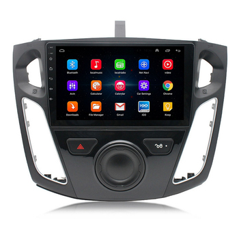 Car Radio Multimedia Player 2din Android 9.1 for Ford Focus 2012-2017 Navigation Autoradio 9'' Touch Screen GPS WIFI Bluetooth image