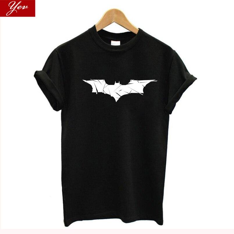 Superman Series Cartoon Batman T Shirt Women Fashion Vintage Tops Women Plus Size T-shirt Streetwear Tee Shirt Femme Harajuku