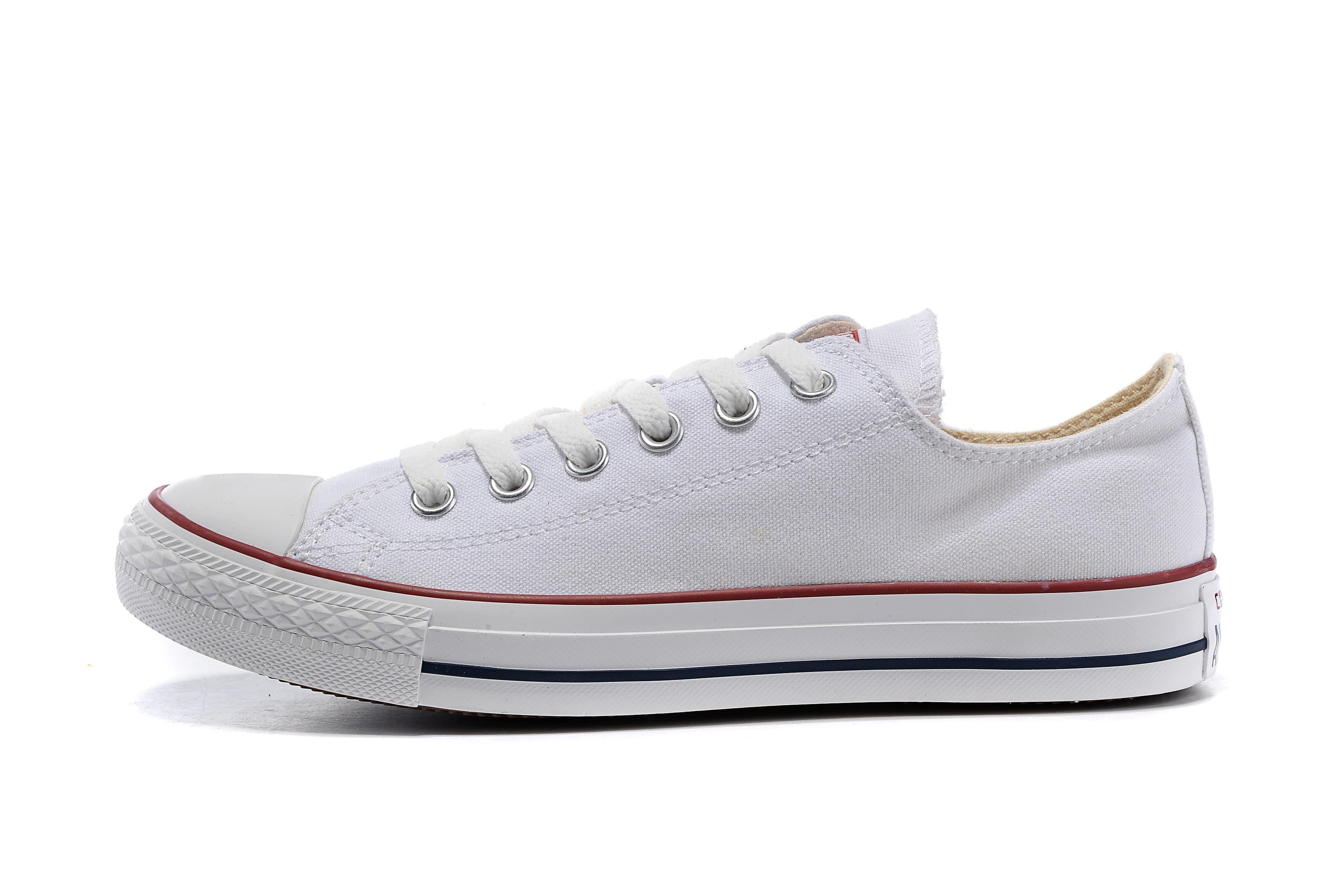 best white converse men low shoes near