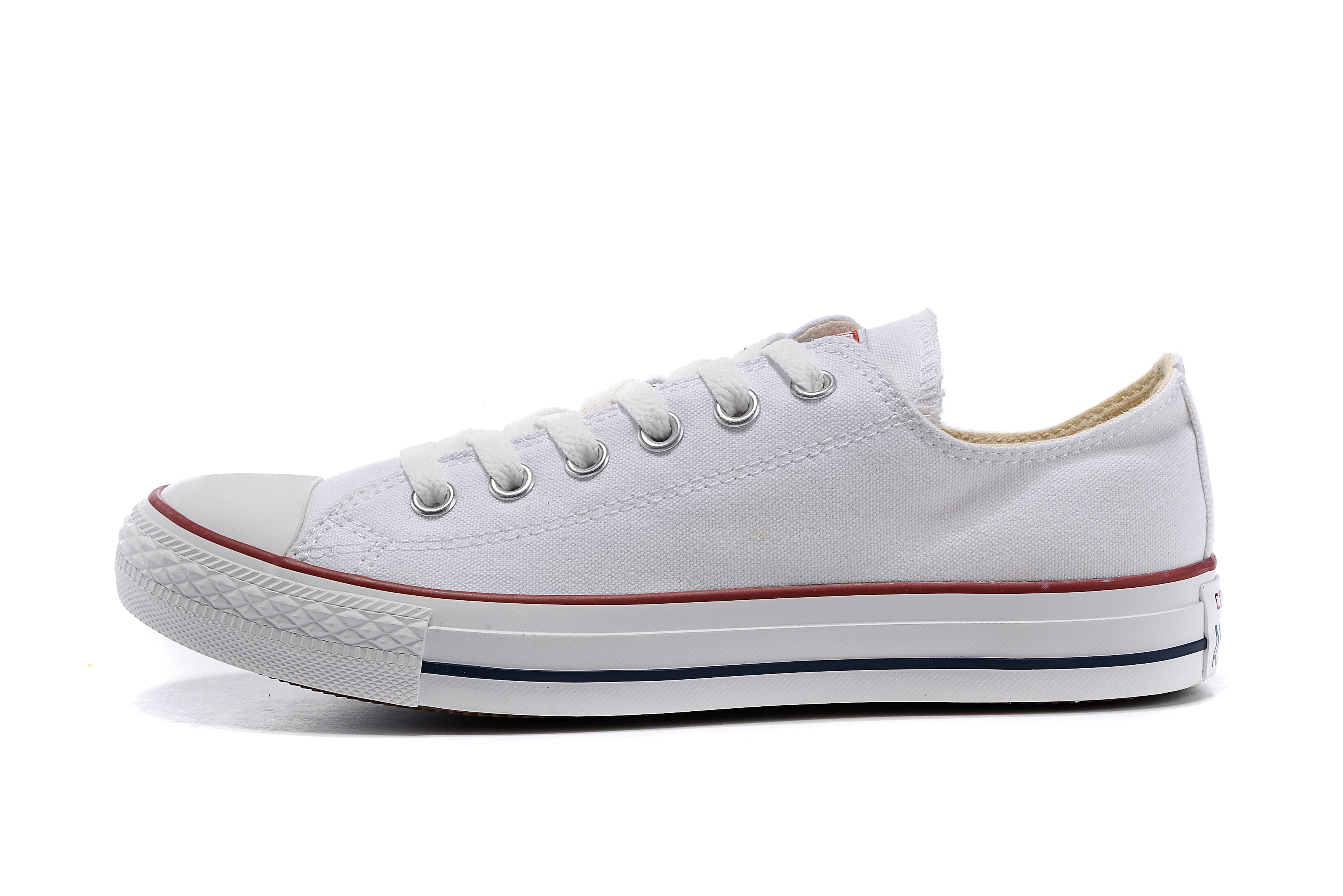 Converse All Star Classic Men's And Women's Sneakers For Men Women Canvas Shoes All White High Low Skateboarding Shoes