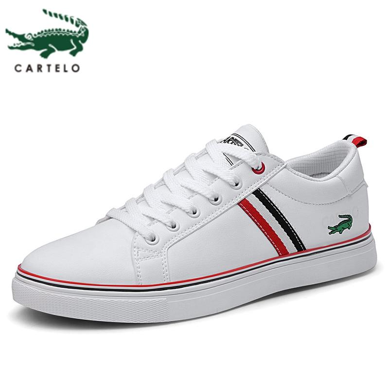 CARTELO Men's Shoes Trend Youth Sports Casual Korean Wild Shoes Men