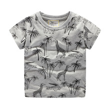 Детская футболка с короткими рукавами мужской топ из чистого хлопка с короткими рукавами детская футболка Летняя одежда г. Весна, новое поступление