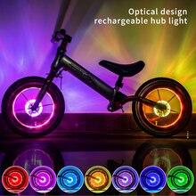 Западный Смарт ledwest езды на велосипеде подсветка колес велосипеда