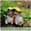 Everyday Collection Mini Fairy Garden Decoration Hedgehog Animal Figurine Ornament Tabletop Balcony Home Decor 6