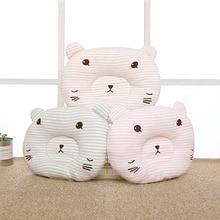 цена на Baby Newborn Cute Pillow Baby Bedding Infant Nursing Pillow Toddler Sleep Anti Roll Cartoon Soft Pillow