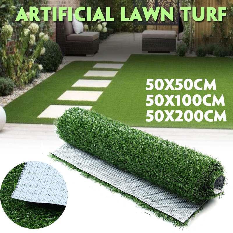 Pelouse artificielle douce de haute qualité de Simulation de tapis de pelouse artificielle d'herbe de pelouse artificielle pour le paysage de Patio de jardin  