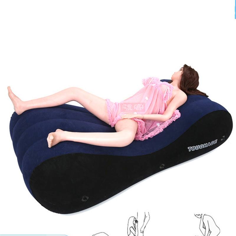 Portable Enjoy Sexy Pillow Sofa Chair Adult Sexy Inflatable Adults Sexy Sofas Love Support Positions Pad Bedroom Hotel Furniture