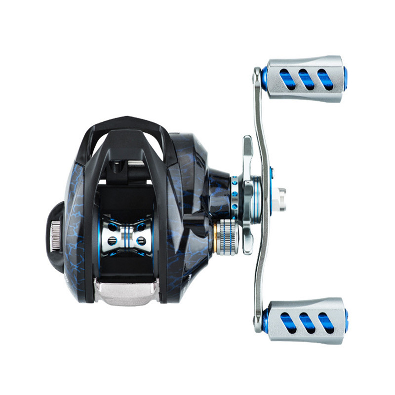 High Quality Brass Gears Fishing Reel 7.2:1 High Speed Gear Ratio Spinning Reel Left Right Aluminum Spool Handle Fishing Reel