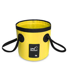 12l 20l balde portátil saco de armazenamento de água saco de armazenamento à prova dwaterproof água pesca dobrável balde mj0703