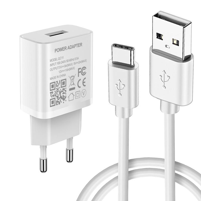 Устройство для быстрой зарядки с usb-портом, быстрая зарядка 3,0 универсальное настенное мобильный телефон зарядное устройство для Huawei Honor 10X 9X...