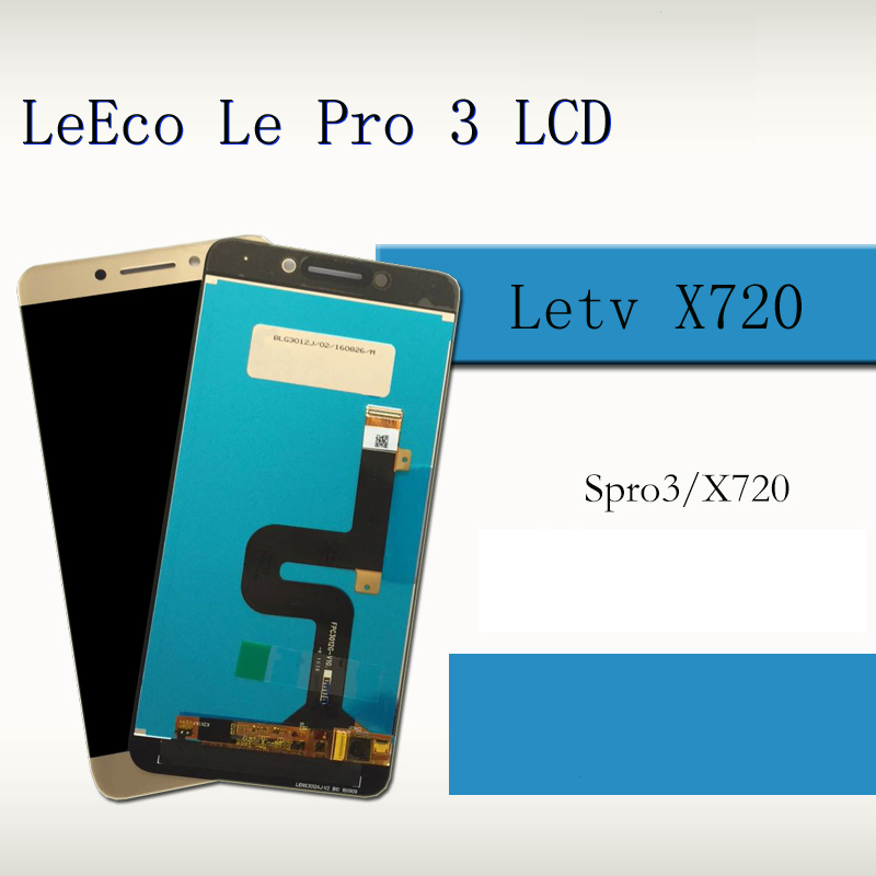 00% Original LCD For LeTV Le Pro 3 LeEco Display Touch Screen For LeTV LeEco Le Pro 3 LCD Le Pro3 Elite Display X720 X727 X722