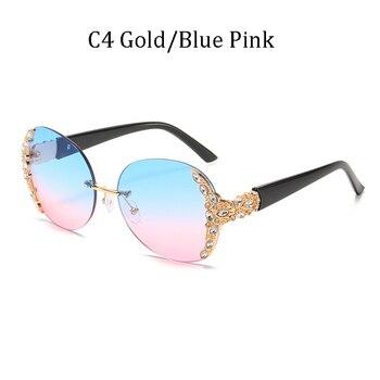 New classic fashion diamond sunglasses uv400  2