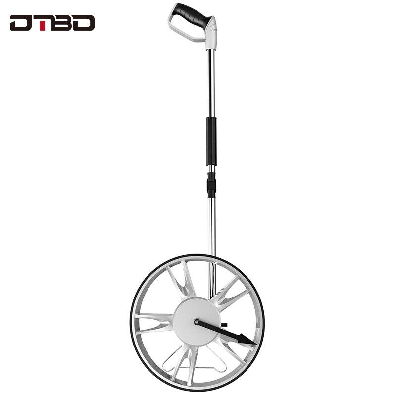 Collapsible Rangefinder 0-99999m Mechanical Distance Measuring Wheel Handheld Range Finder Meter For Professional