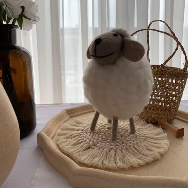 Cotton Macrame Coaster 5