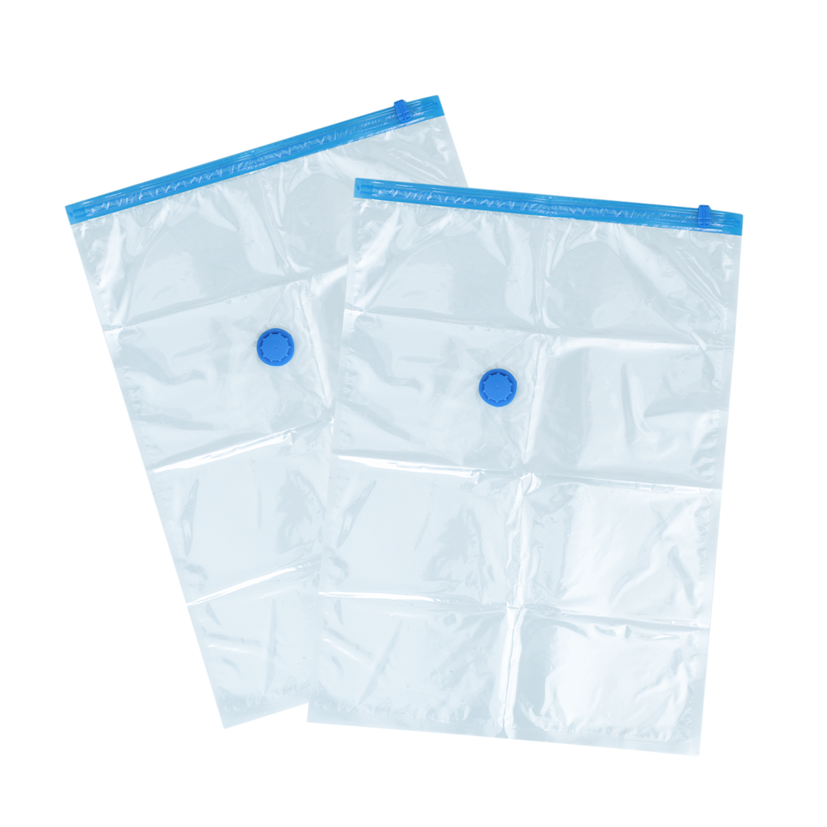 10pcs 70x50cm Compress Bag Saving Space Vacuum Seal Storage Bags for Clothes Blankets Pillows (Transparent)|Vacuum Bag Pumps| |  - title=
