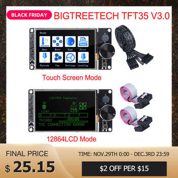 BIGTREETECH TFT35 V3.0 Touch Screen/12864LCD Display 32Bit 3D Printer Parts Wifi VS MKS TFT35 For Ender 3/5 SKR V1.3 PRO Board - Category 🛒 Computer & Office