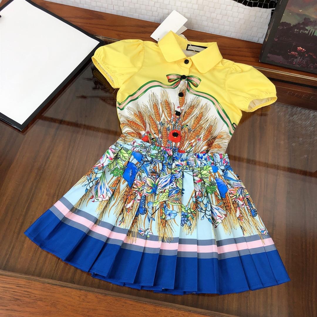 High-end roupas infantis ternos, camisas para meninas,