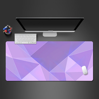 Color Personality Creative Game Mouse Pad Oversized Computer Desk Pad Office Keyboard Lock Edge Non-slip Washable Rubber Mats
