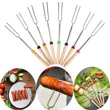 Buy HobbyLane 8pcs Outdoor Camping Cookware Supplies Stainless Steel Barbecue Marshmallow Roast Stick Extension Roaster Telescopic directly from merchant!