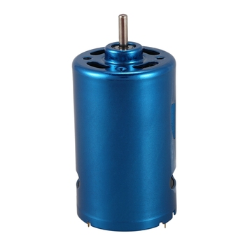 1Pc Blue RS-550 DC Motor High Speed Large Torque RC Car Boat Model 12V 24V 30000RPM 545 motor diy model toy motor generator mute high torque dc 12v 24v