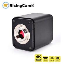 """4K 울트라 HD 60fps 소니 imx334 1/1.8 """"센서 HDMI GE 포트 USB 출력 디지털 현미경 카메라 4K HDMI USB 현미경 카메라 4k"""