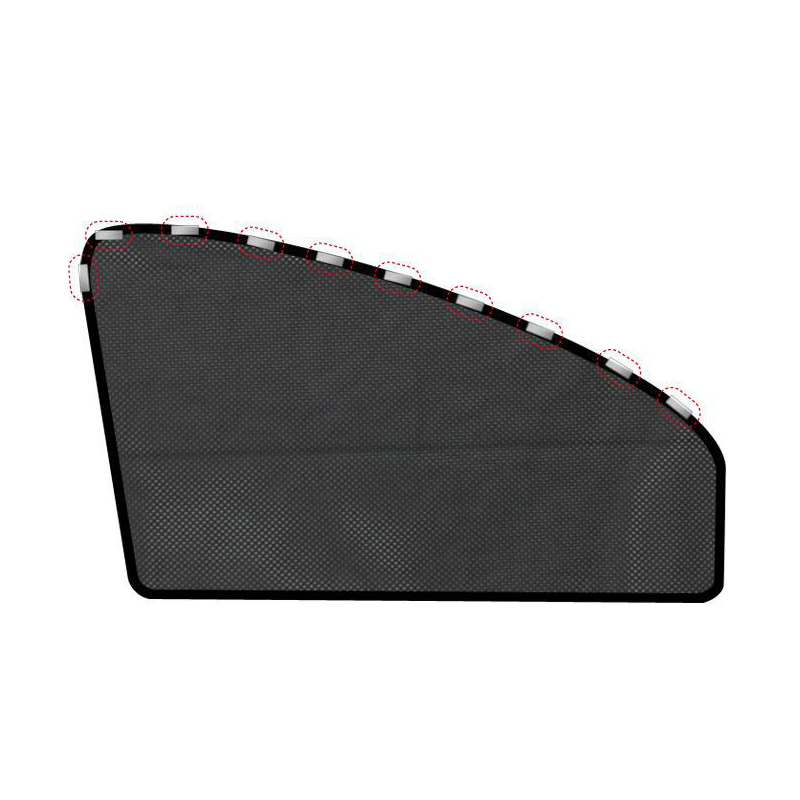 Car Side Window Mesh Magnet Sunshade Car Window Sunscreen Heat Shield Magnetic Car Retractable Sunshade