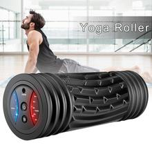 High-end 5 Levels Electric Yoga Roller Muscle Relaxation Vibration Massager for Fitness Equipment Sp
