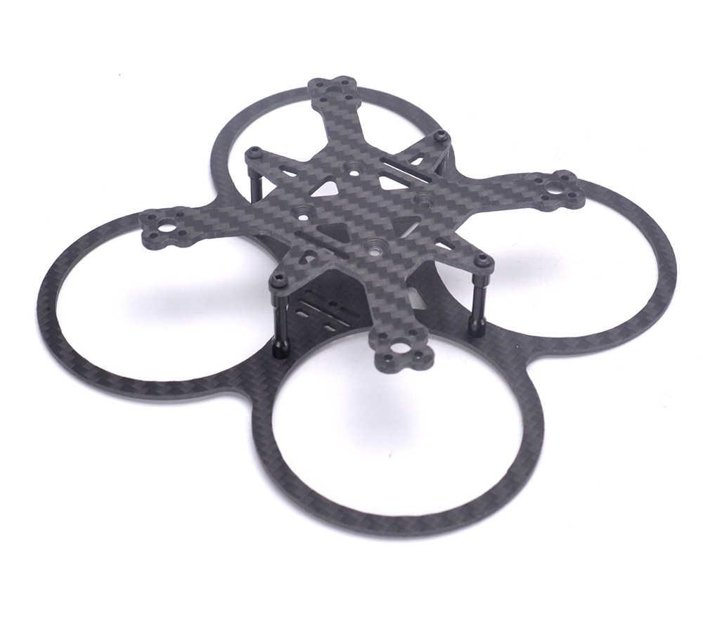 Mini MD90 90 90mm MD 90 Full fibra de carbono plat superior 1,5mm Placa de plat inferior 2,0mm para FPV kit de cuadricóptero Dron de carreras