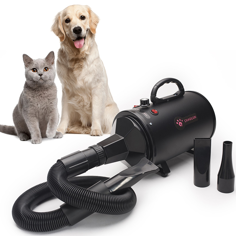 Pet Water Blower High Power Mute Large Dog Cat Special Dry Blowing Hair Artifact Hot/Cold air 220V Dog Cat Supplies - 4