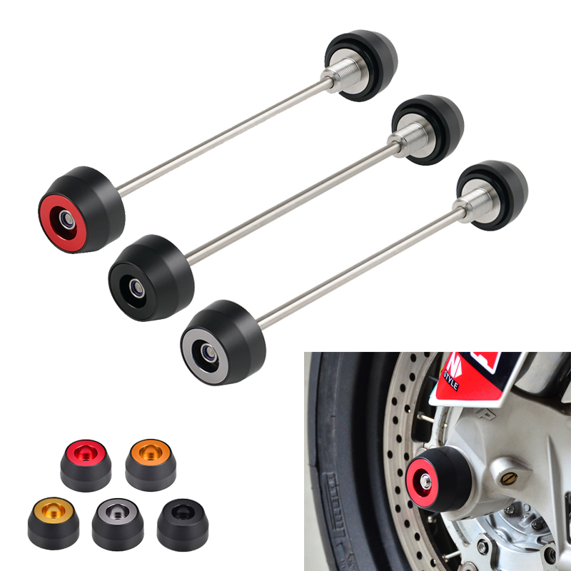 Front Axle Slider Fork Crash Protector for Honda CBR1000RR SP 2017 <font><b>2018</b></font> 2019 2020 CBR 1000RR 1000 RR <font><b>CB1000R</b></font> CB 1000R Motorcycle image