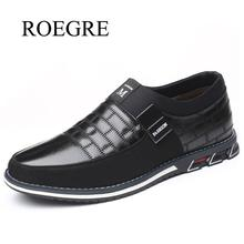 Plus Size 38-48 New 2020 Genuine Leather Men Casual Shoes Br