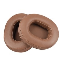 Soft Replacement Earpads Ear Pads Cushion for ATH-MSR7 for Sony M50X M20 M40 M40X SX1 Headphones(China)