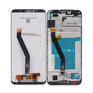 Image 2 - Original pour les pièces de réparation décran tactile daffichage à cristaux liquides de Huawei Honor 7C Aum L41 pour laffichage à cristaux liquides décran dhonneur 7C avec le cadre