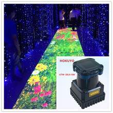 цена 30m UTM-30LX-EW lidar ground wall large screen interactive software multi-touch projection interactive engine system package онлайн в 2017 году